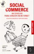 social commerce. 100 consejos para vender en internet (ebook)-leonard pera-9788494158810