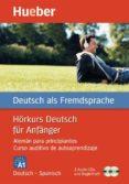 HÖRKURS DEUTSCH FÜR ANFÄNGER, SPANISCH - 9783192074820 - VV.AA.