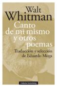 canto de mí mismo y otros poemas-walt whitman-9788417747220