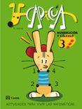 CAPICUA: NUMERACION Y CALCULO (3º EDUCACION INFANTIL) - 9788421832820 - ANGEL ALSINA I PASTELLS