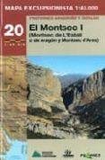 MAPA EXCURSIONISTA EL MONTSEC 1 - 9788483212820 - VV.AA.