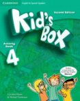 KID S BOX ESS 4 2ED ACT/CD-ROM/HM BOOKLET - 9788490367520 - VV.AA.