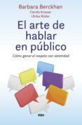 el arte de hablar en público (ebook)-barbara berckhan-9788491873020