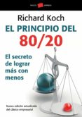 EL PRINCIPIO DEL 80/20 - 9788449322730 - RICHARD KOCH
