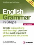NEW ENGLISH GRAMMAR IN STEPS BOOK WITH ANSWERS - 9788466817530 - VV.AA.