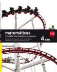 MATEMÁTICAS B (ORIENTADAS A LAS ENSEÑANZAS ACADÉMICAS) 4º ESO SAVIA 16 - 9788467586930 - VV.AA.