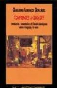 COMPRENDER A CHOMSKY: INTRODUCCION Y COMENTARIOS A LA FILOSOFIA C HOMSKYANA SOBRE EL LENGUAJE Y LA MENTE - 9788477748830 - GUILLERMO LORENZO GONZALEZ