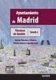 TECNICOS DE GESTION AYUNTAMIENTO DE MADRID: TEMARIO 5 - 9788499439730 - VV.AA.