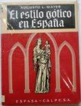 Descarga gratuita El estilo gótico en españa Epub