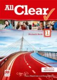 ALL CLEAR 1 SECONDARY STUDENT S BOOK PACK - 9780230485440 - VV.AA.
