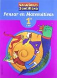 PENSAR EN MATEMATICAS (1º ESO) - 9788429494440 - VV.AA.