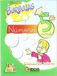 CUADERNO NUMERO 5 PROYECTO BURBUJAS EDUCACION INFANTIL - 9788489886940 - VV.AA.