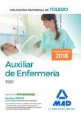 AUXILIAR DE ENFERMERIA DE LA DIPUTACION PROVINCIAL DE TOLEDO. TEST - 9788414215050 - VV.AA.