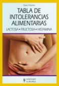 TABLA DE INTOLERANCIAS ALIMENTARIAS: LACTOSA, FRUCTOSA, HISTAMINA - 9788425520150 - DORIS FRITZSCHE