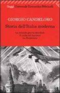 STORIA DELL ITALIA MODERNA. VOL. 10: LA SECONDA GUERRA MONDIALE. IL CROLLO DEL FASCISMO. LA RESISTENZA (1939-1945) - 9788807808050 - GIORGIO. CANDELORO