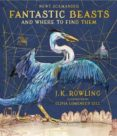 FANTASTIC BEASTS AND WHERE TO FIND THEM (ILLUSTRATED EDITION) - 9781408885260 - J.K. ROWLING