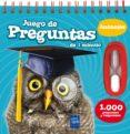 JUEGO DE PREGUNTAS DE 1 MINUTO: 1000 PREGUNTAS Y RESPUESTAS DE ANIMALES - 9788408143260 - YOYO