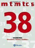 CUADERNOS DE MATEMATICAS 38: GEOMETRIA - 9788421642160 - VV.AA.