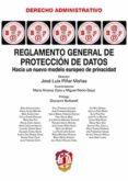 REGLAMENTO GENERAL DE PROTECCIÓN DE DATOS - 9788429019360 - JOSE LUIS PIÑAR MAÑAS