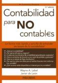 CONTABILIDAD PARA NO CONTABLES - 9788436832860 - WAYNE LABEL