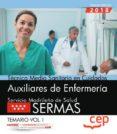 TECNICO EN CUIDADOS AUXILIARES DE ENFERMERIA OPOSICIONES SERMAS. (SERVICIO MADRILEÑO DE SALUD) TEMARIO VOL. 1 - 9788468172460 - VV.AA.