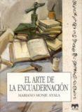 el arte de la encuadernacion-mariano monje ayala-9788489142060