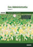 COS ADMINISTRATIU TEMARI 2 GENERALITAT DE CATALUNYA - 9788491473060 - VV.AA.