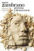 persona y democracia (ebook)-maria zambrano-9788491814160