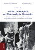 Descargar  gratis ebook STUDIEN ZUR REZEPTION DES ŒUVRES ALBERTO GIACOMETTIS