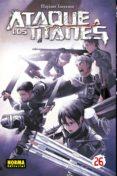 ataque a los titanes 26-hajime isayama-9788467934670
