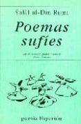 POEMAS SUFIES - 9788475175270 - YALAL AL-DIN RUMI