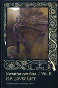 narrativa completa (vol. 2)-h.p. lovecraft-9788477025870