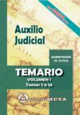 AUXILIO JUDICIAL (VOL. I): TEMARIO - 9788482194370 - JOSE LUIS RAMOS CEJUDO