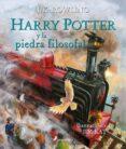 HARRY POTTER Y LA PIEDRA FILOSOFAL (ILUSTRADO) - 9788498387070 - J.K. ROWLING