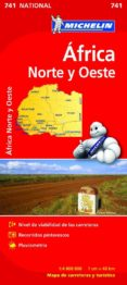 AFRICA NORTE-OESTE 2012 (1:4000000) (REF. 741) (MAPA NATIONAL) - 9782067172180 - VV.AA.