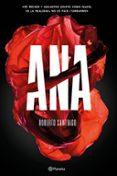 ANA - 9788408166580 - ROBERTO SANTIAGO