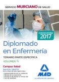 DIPLOMADO EN ENFERMERÍA DEL SERVICIO MURCIANO DE SALUD. TEMARIO PARTE ESPECÍFICA VOLUMEN 4 - 9788414206980 - VV.AA.