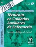 TECNICO/A EN CUIDADOS AUXILIARES DE ENFERMERIA: SERVICIO GALLEGO DE SALUD: TEMARIO ESPECIFICO Y TEST (VOL. 1) - 9788417287580 - VV.AA.