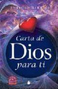 CARTA DE DIOS PARA TI - 9788478085880 - ENRIQUE BARRIOS