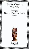 TEORIA DE LOS SENTIMIENTOS - 9788483107980 - CARLOS CASTILLA DEL PINO
