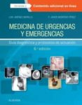 MEDICINA DE URGENCIAS Y EMERGENCIAS 6ª ED (INCLUYE ACCESO A CONTE NIDO ONLINE) GUÍA DIAGNÓSTICA Y PROTOCOLOS DE ACTUACIÓN - 9788491132080 - LUIS JIMENEZ MURILLO