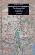 POESIA POPULAR HISPANICA: 44 ESTUDIOS - 9789681673680 - MARGIT FRENK ALATORRE