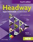 NEW HEADWAY: UPPER-INTERMEDIATE: STUDENTS BOOK A - 9780194713290 - VV.AA.