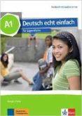 DEUTSCH ECHT EINFACH A1 ALUMNO + AUDIO - 9783126765190 - VV.AA.