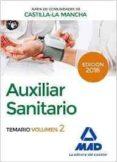 auxiliar sanitario (personal laboral de la junta de comunidades de castilla-la mancha). temario volumen 2-jose manuel ania palacio-9788414200490