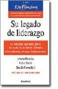 SU LEGADO DE LIDERAZGO - 9788475777290 - MARTA BROOKS