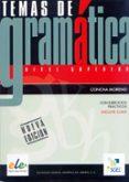 TEMAS DE GRAMATICA - 9788497784290 - CONCHA MORENO