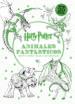 harry potter-animales fantasticos mini libro para colorear-9788868219970