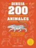DIBUJA 200 ANIMALES LEE J. AMES