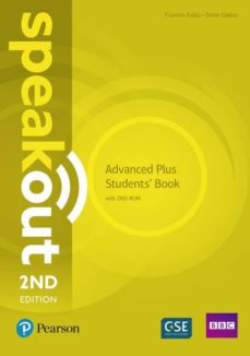 Descarga de audiolibros en alemán SPEAKOUT ADVANCED PLUS 2ND EDITION STUDENTS  BOOK AND DVD-ROM PACK ED 2018 9781292241500